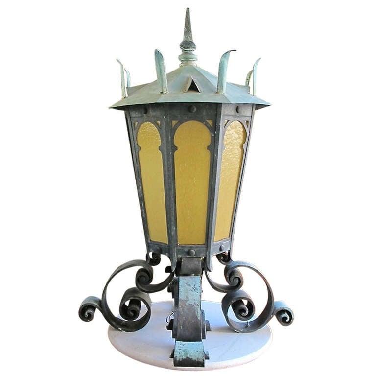 Large Bronze Lantern