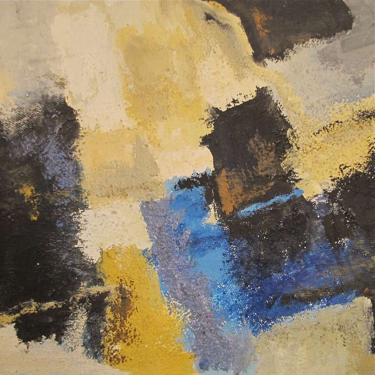American Mid-Century Modern Abstract Painting, California, 1968 For Sale