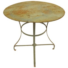 Vintage French Garden Bistro Table