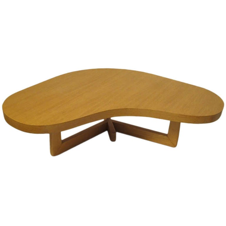 Mid-Century Modern Boomerang Coffee Table For Sale At 1stdibs