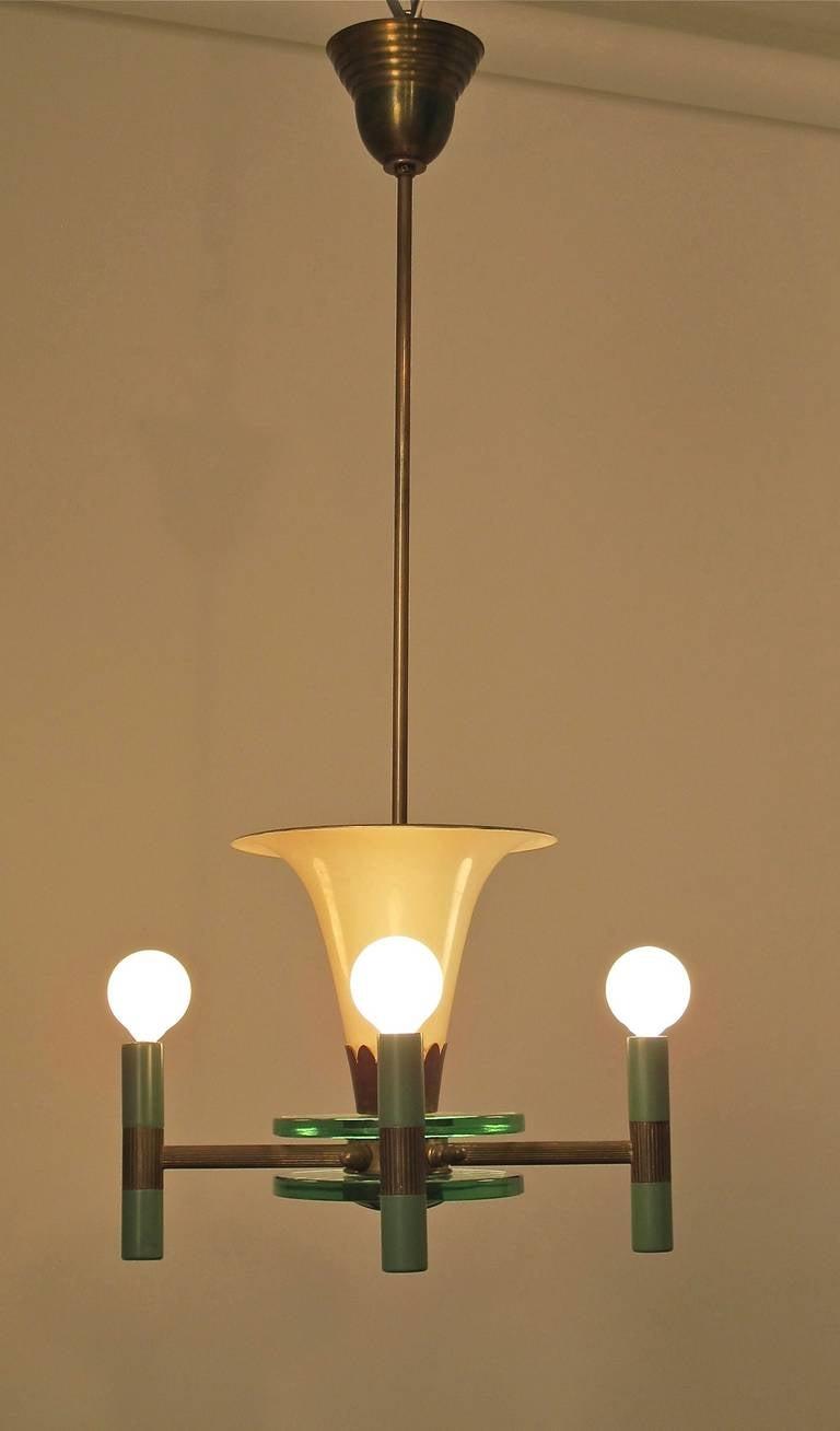 art deco light fixture for sale at 1stdibs. Black Bedroom Furniture Sets. Home Design Ideas