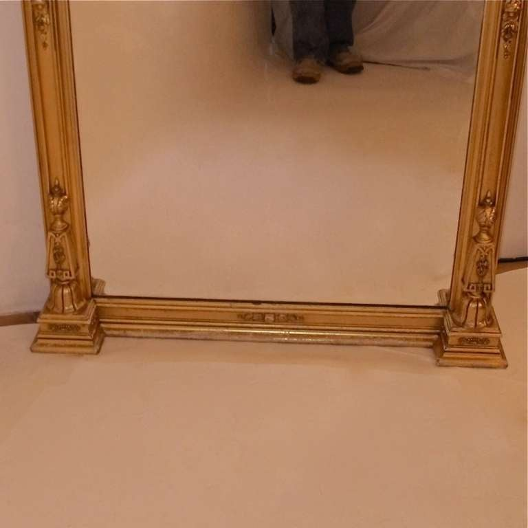 American victorian mantel pier mirror for sale at 1stdibs for Mantel mirrors