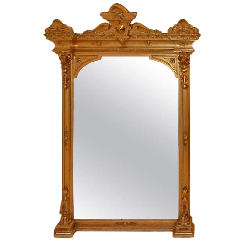 american victorian mantle pier mirror for sale at 1stdibs