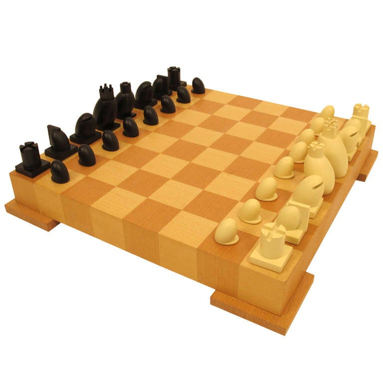 modern chess set at 1stdibs