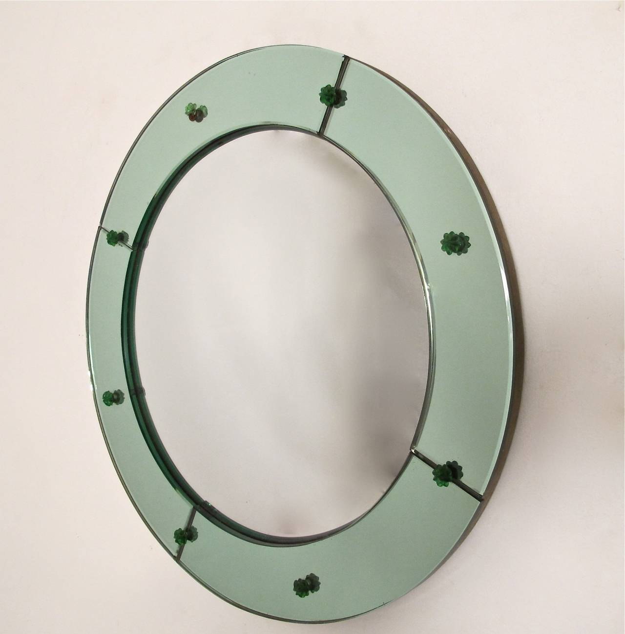 Art deco convex mirror for sale at 1stdibs for Convex mirror for home