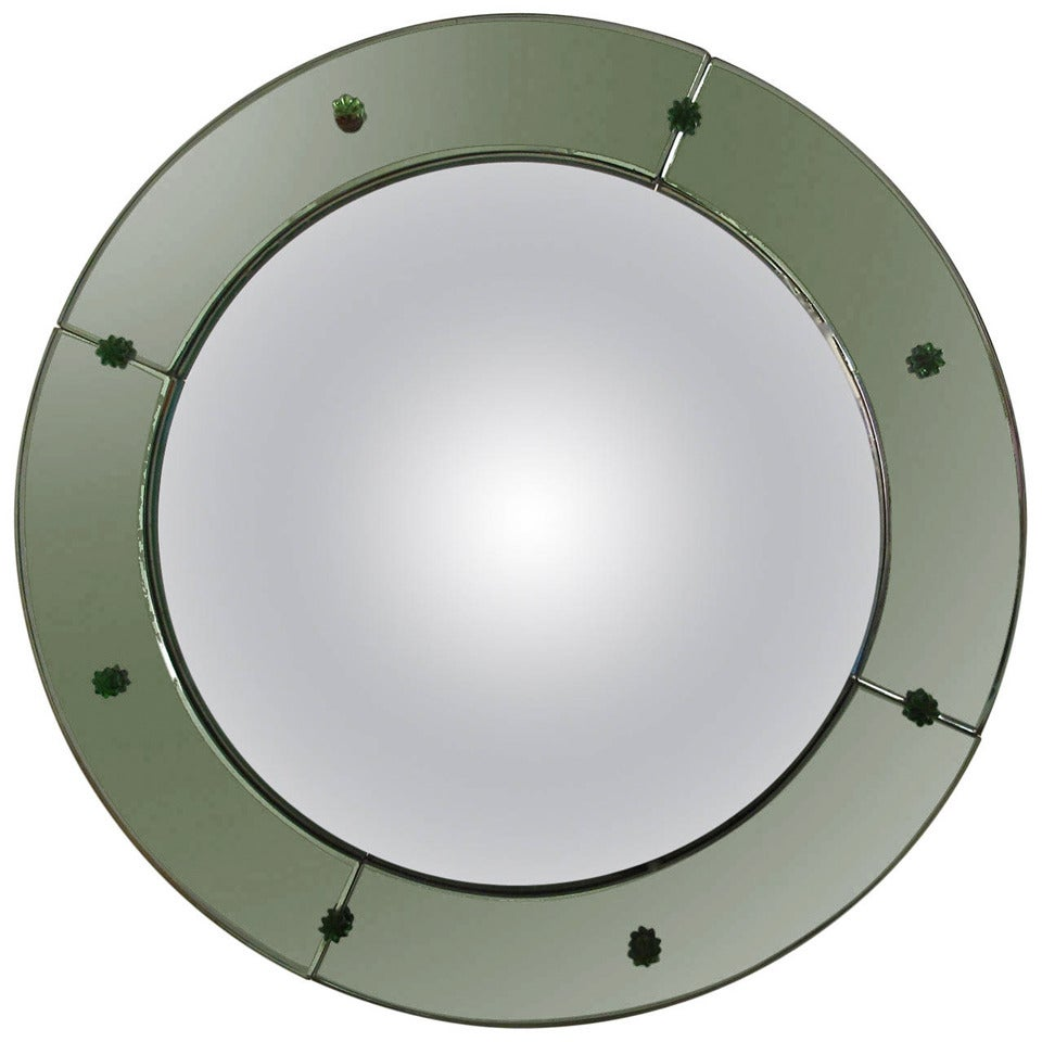 Art deco convex mirror for sale at 1stdibs for Convex mirror