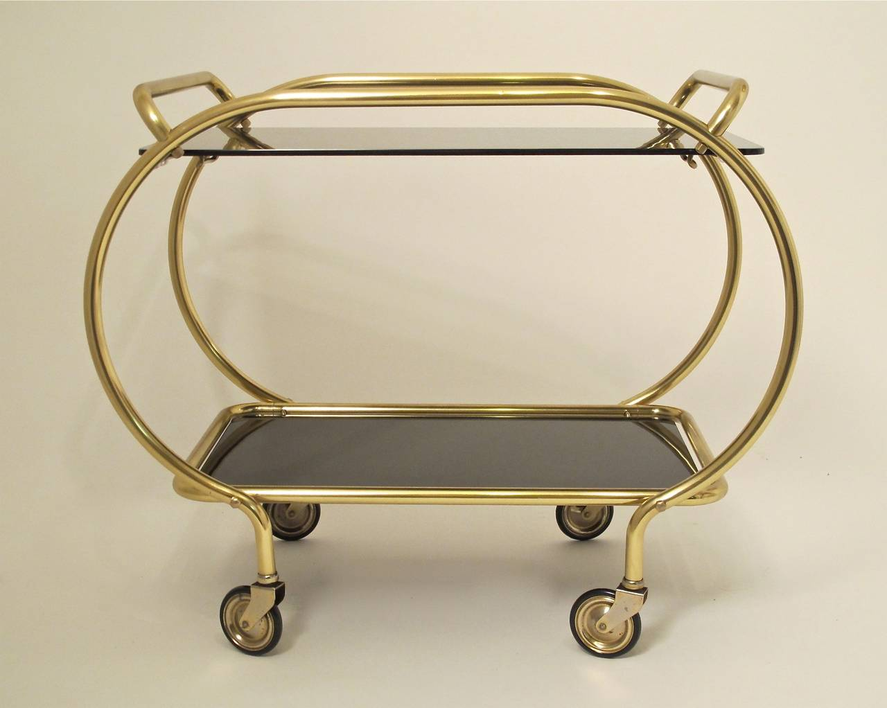 American Art Deco Style Bar Cart For Sale
