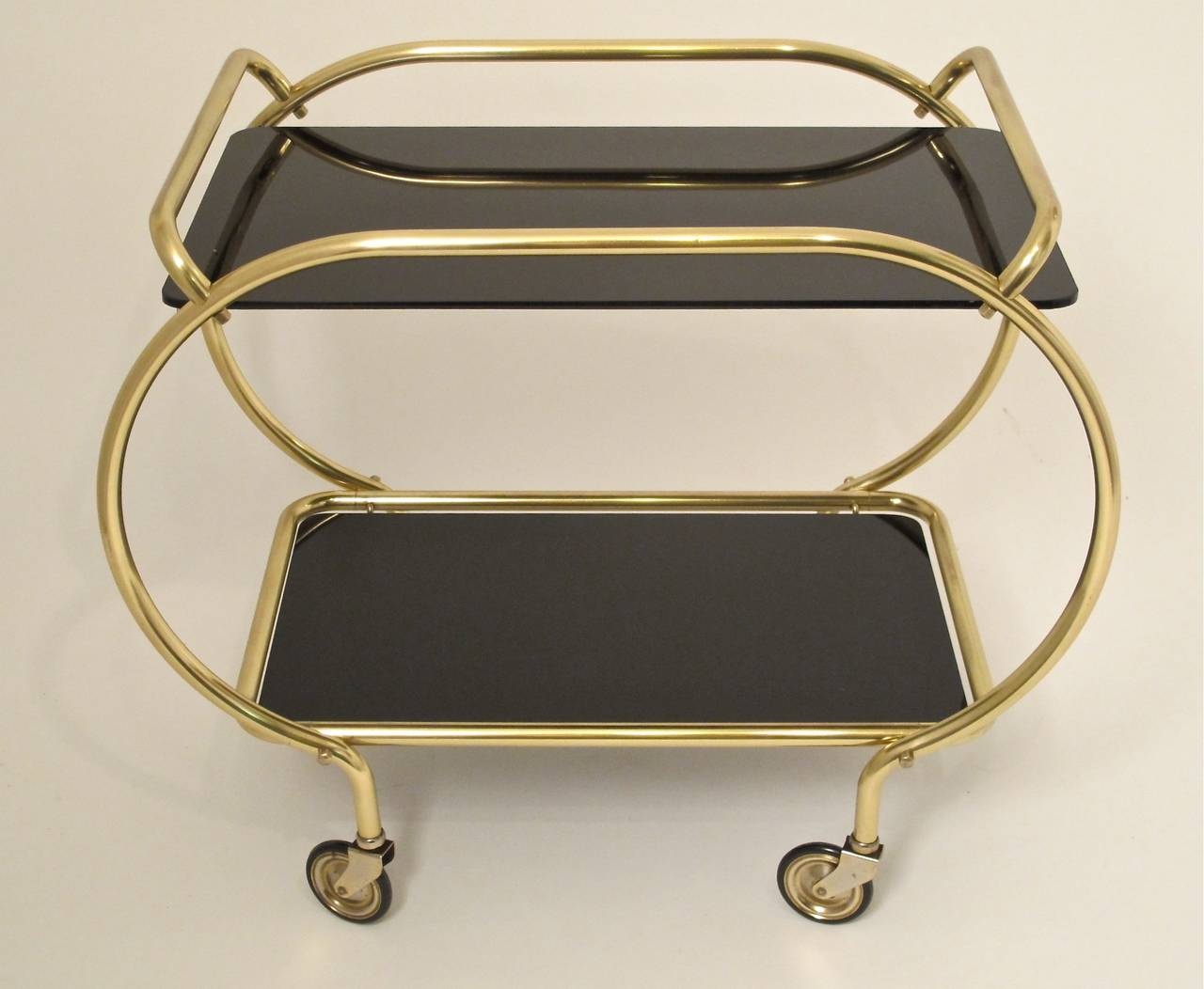 Mid-20th Century Art Deco Style Bar Cart For Sale