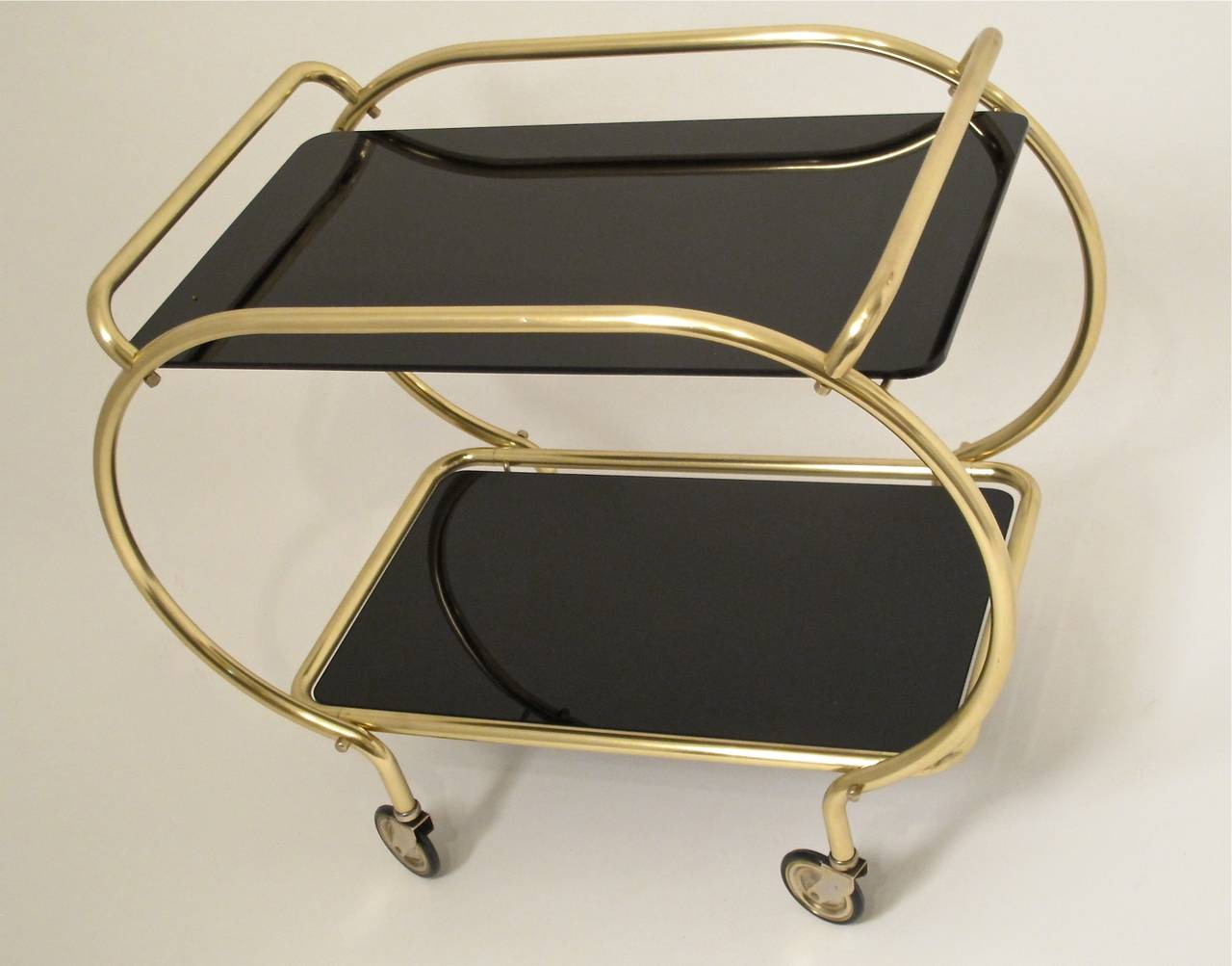 Art Deco Style Bar Cart For Sale 1