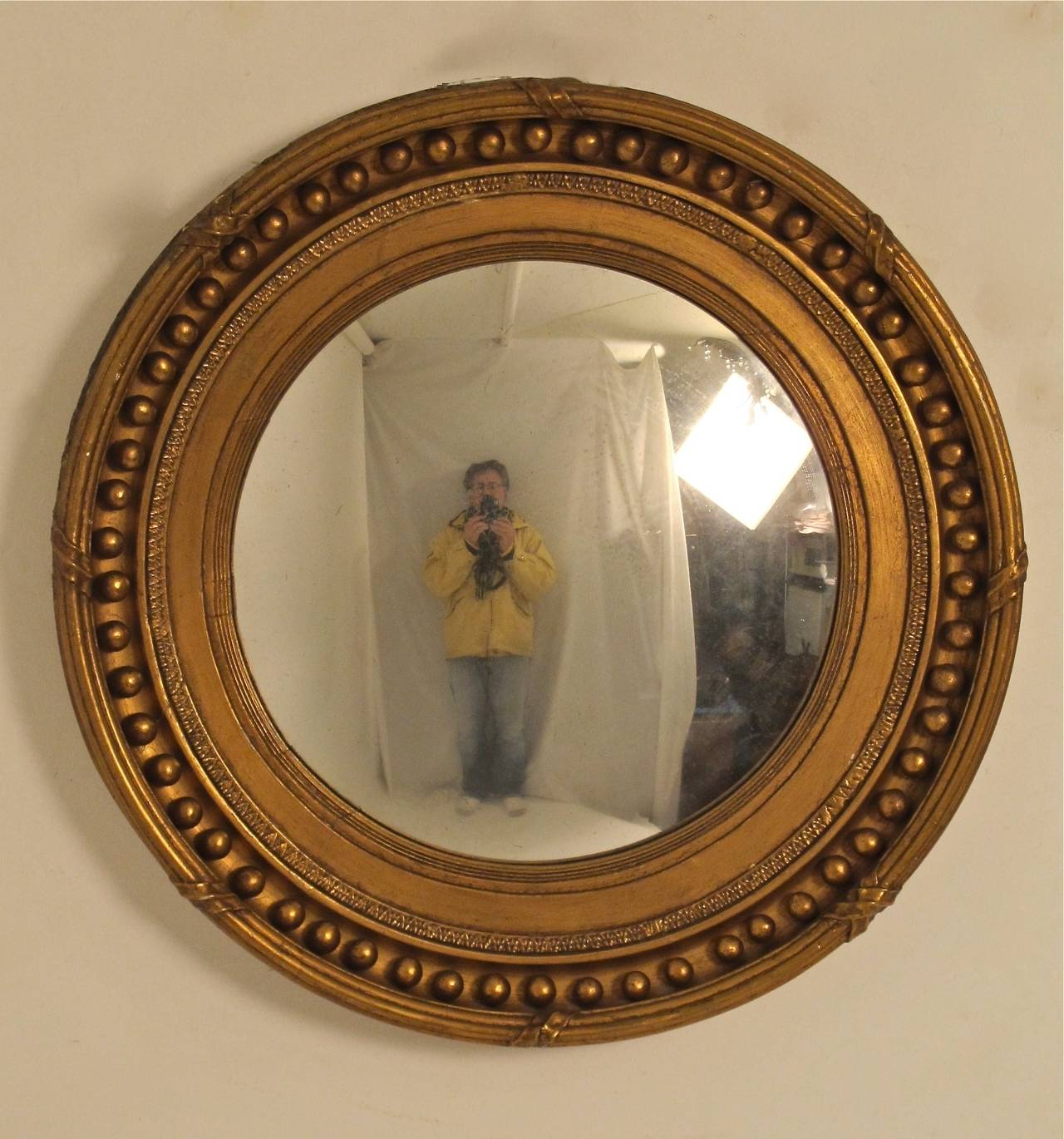 19th century regency style convex mirror at 1stdibs for Mirrors for sale