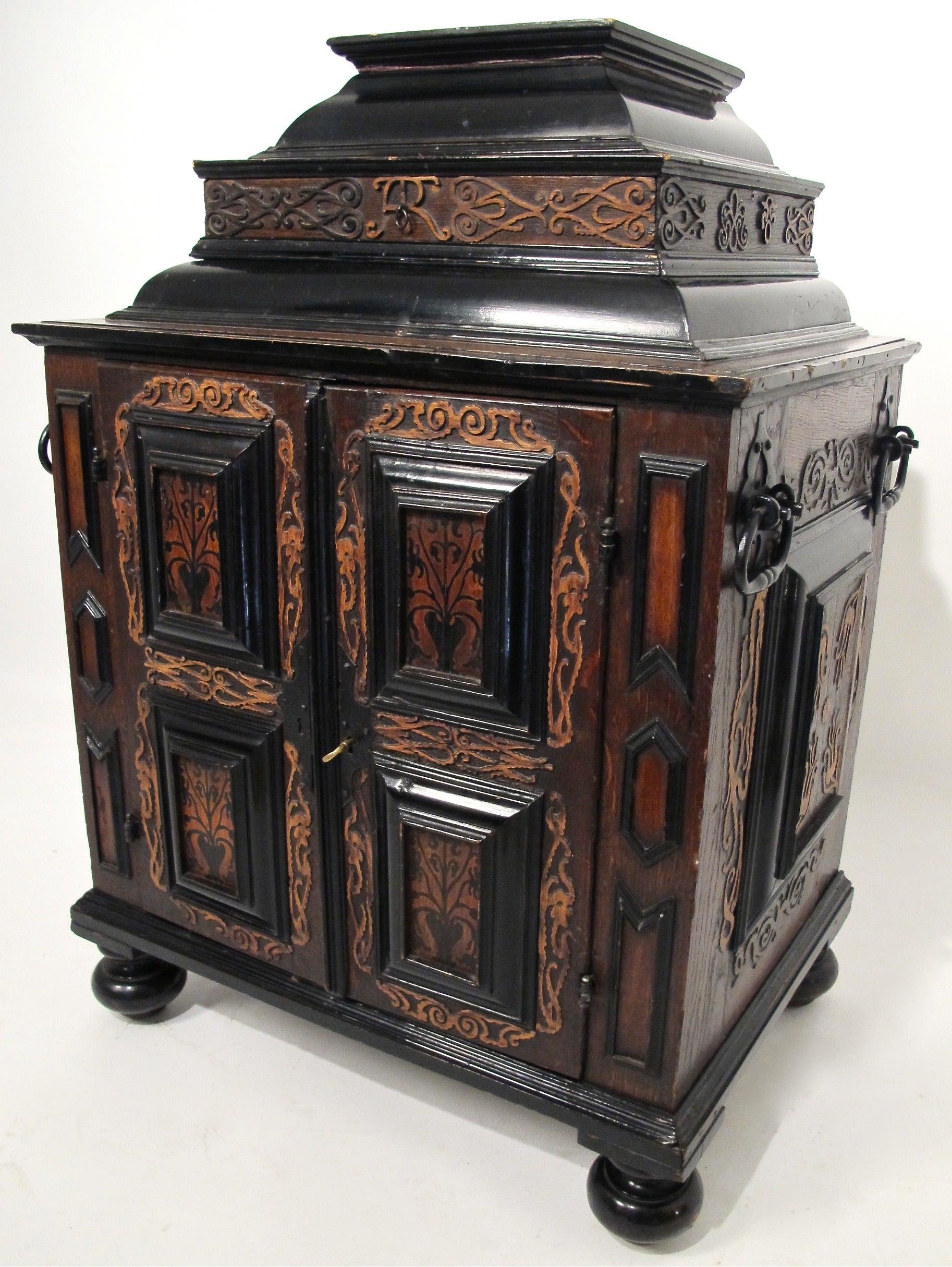 18th Century Dutch Jewelry Cabinet