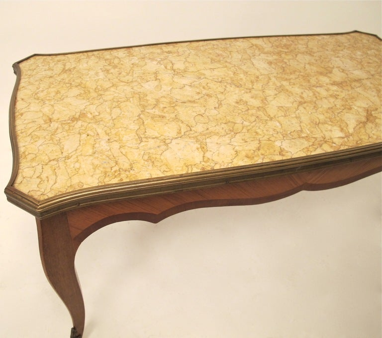 French Market Coffee Table: French Cocktail/Coffee Table For Sale At 1stdibs
