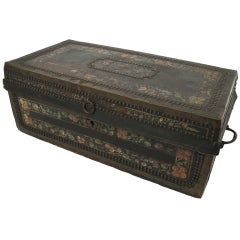 19th Century Chinese Export Trunk