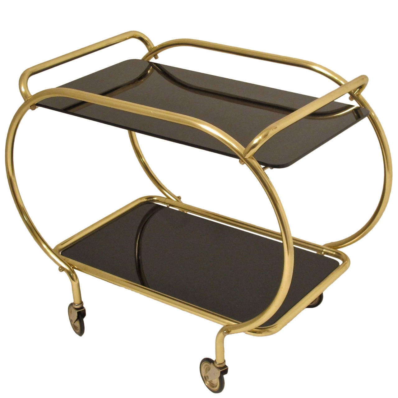 Art Deco Style Bar Cart For Sale