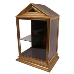 Antique Giltwood Display Case