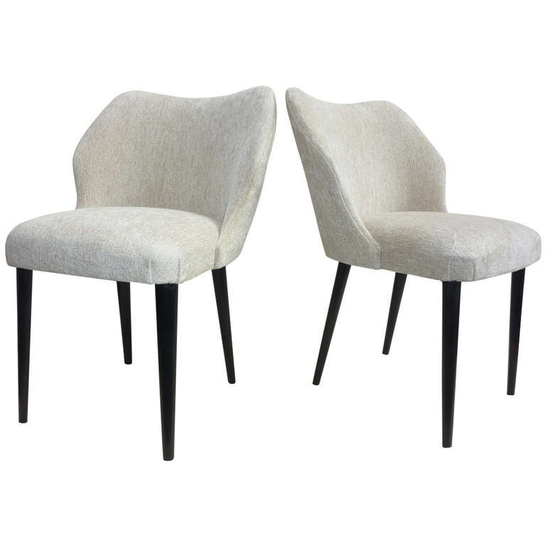 Italian Pair of Chairs by Cantoni Udine For Sale
