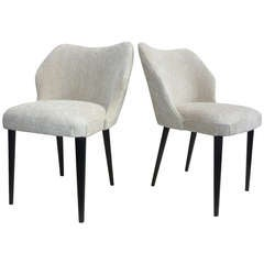Italian Pair of Chairs by Cantoni Udine