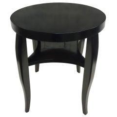 French Art Deco Sofa Table