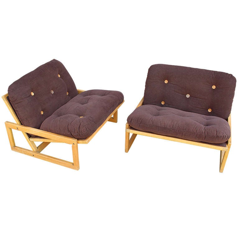 Italian Pair Of Chairs Quot Carlotta Quot By Afra And Tobia Scarpa