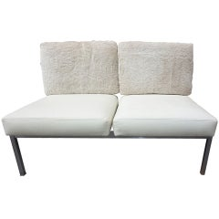 Settee in the Style of Knoll, Milo Baughman