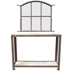 French Antique  Entryway Set