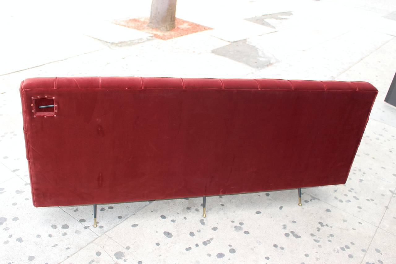 Italian Sofa after Marco Zanuso, circa 1960s Divano Sleep-o-Matic For Sale 2