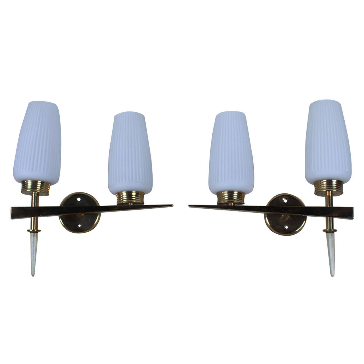Wall Sconces in Style of Stilnovo