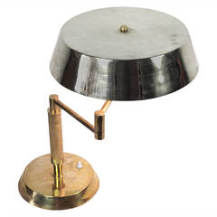 Brass Desk Lamp after Gio Ponti
