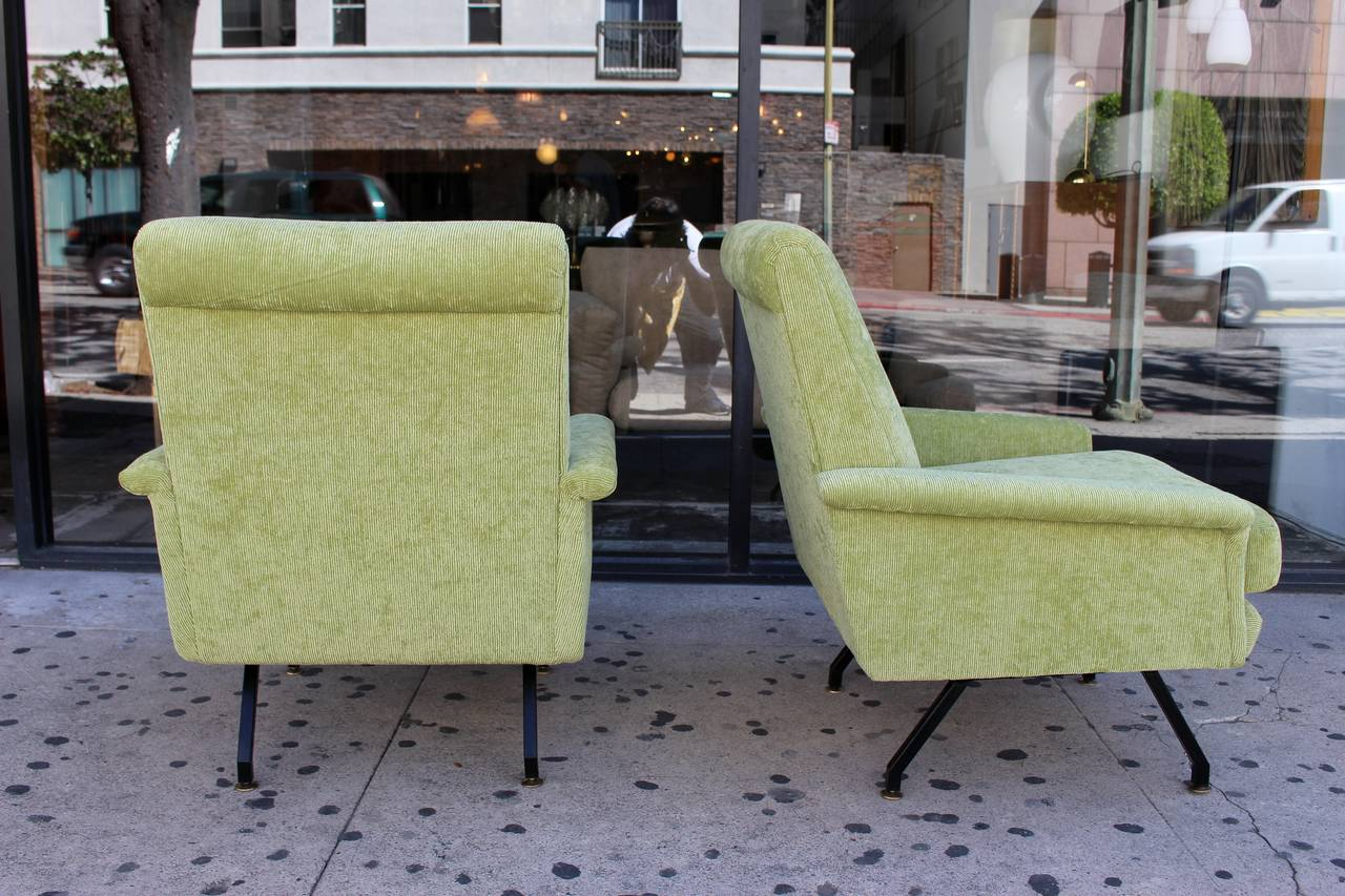 Italian Pair of Lounge Chairs 2