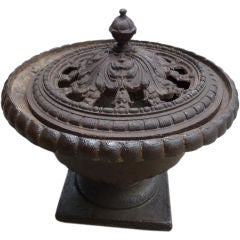 French  Iron Fire Pit