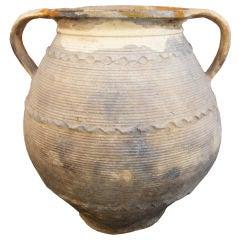 Antique Italian Terracotta Olive Oil Jar