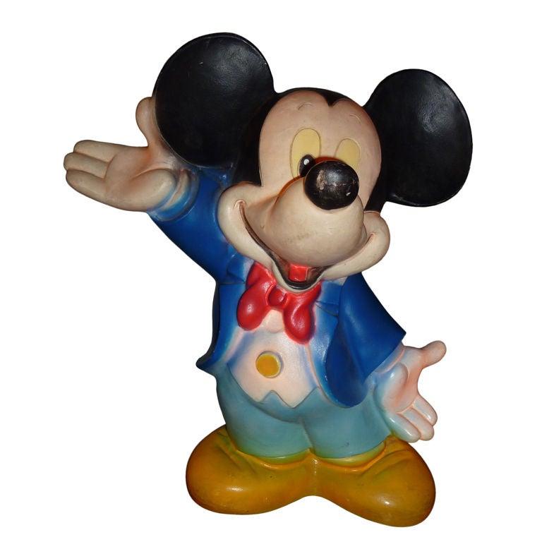 Vintage Disney Mickey Mouse Lamp At 1stdibs