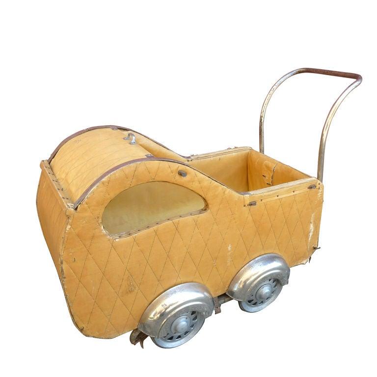 Art Deco Baby Stroler At 1stdibs