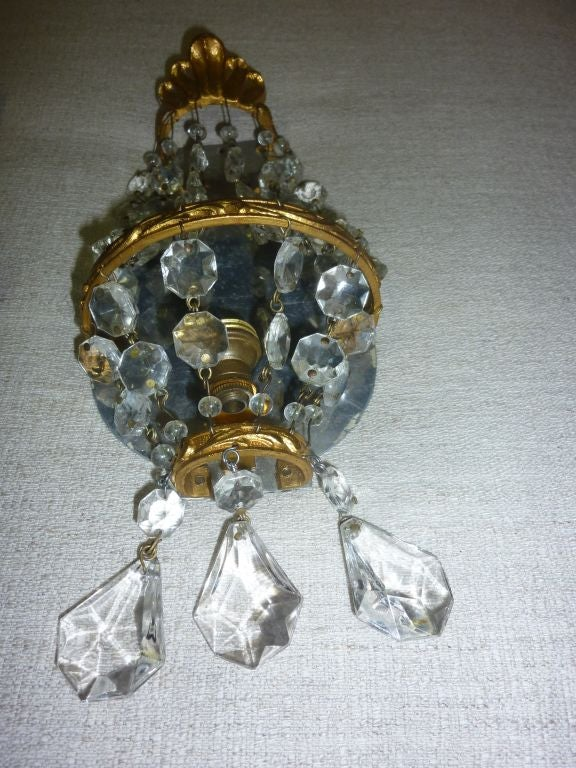 Mid-20th Century Murano Wall Sconces For Sale