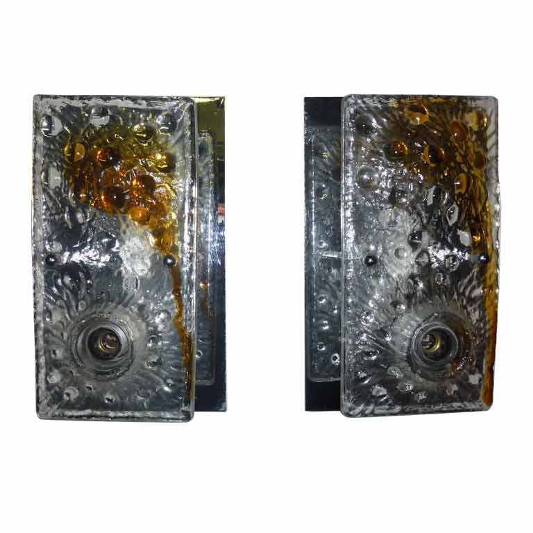 Mazzega Wall Sconces For Sale