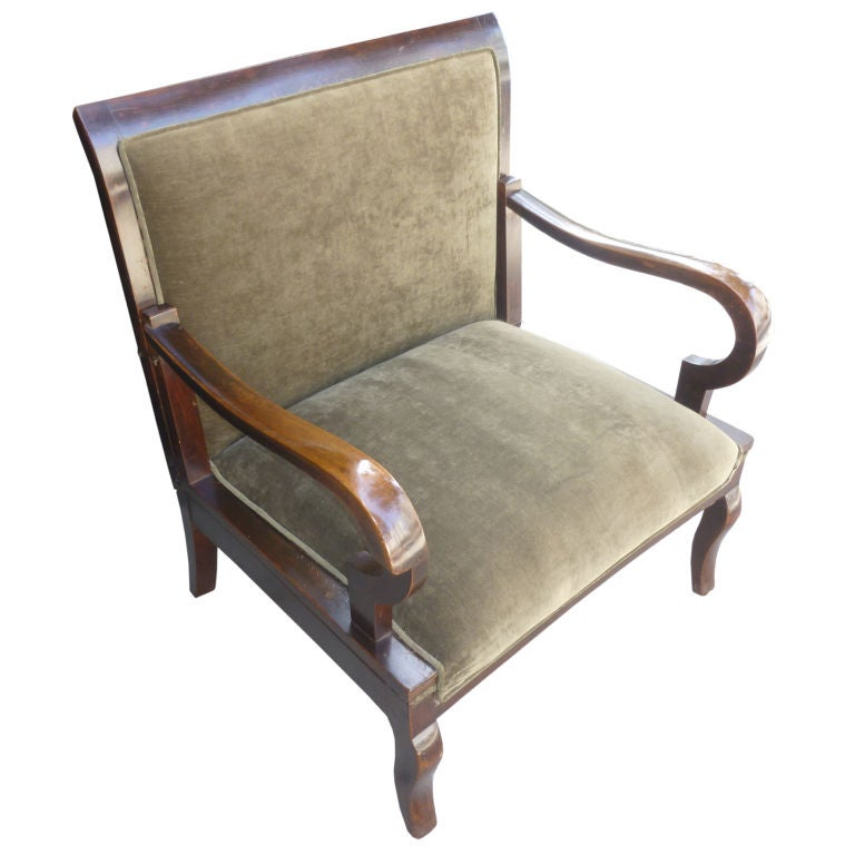Art Deco Chair Day Bed At 1stdibs