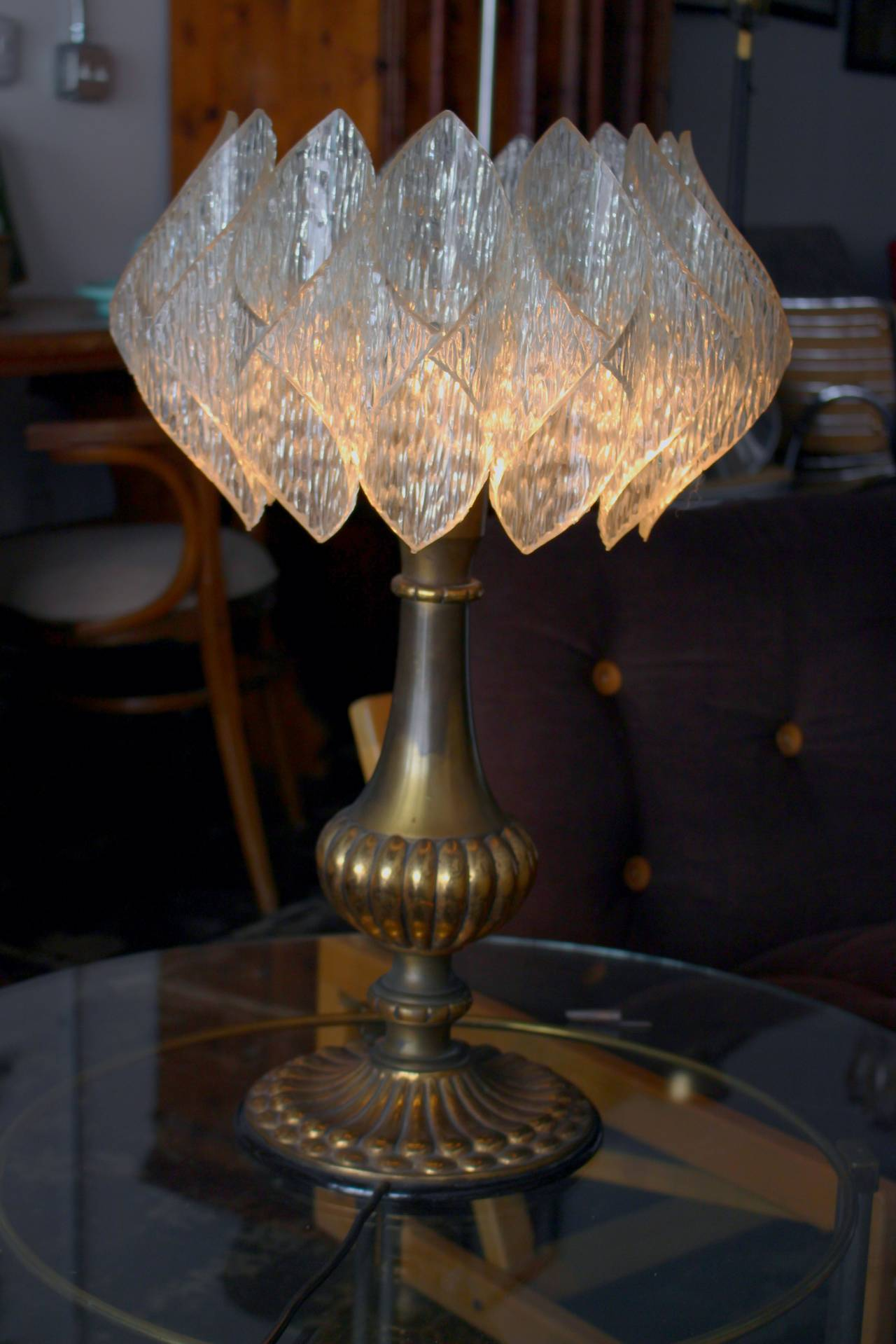 Table Lamp By Doria For Lamp Art For Sale At 1stdibs