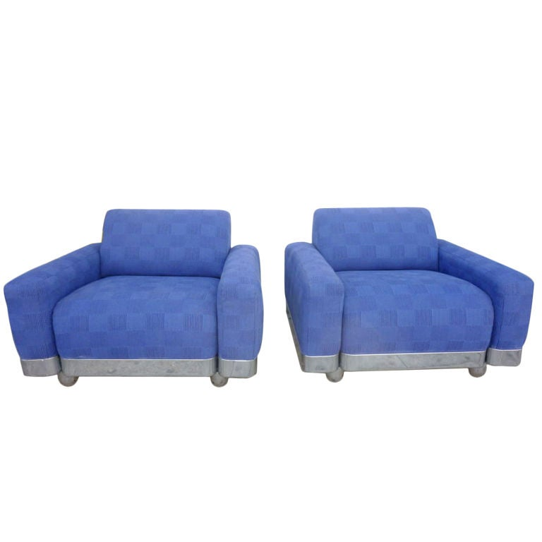 Italian Lounge Chairs For Sale