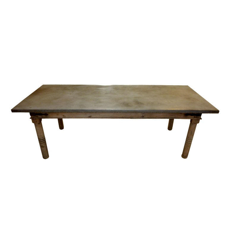 Dining Room Tables With Zinc Top 28 Images
