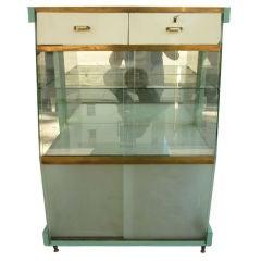 Italian Bacheca Glass Showcase