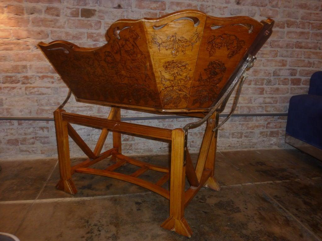 19th Century Italian Baby Cradle 3