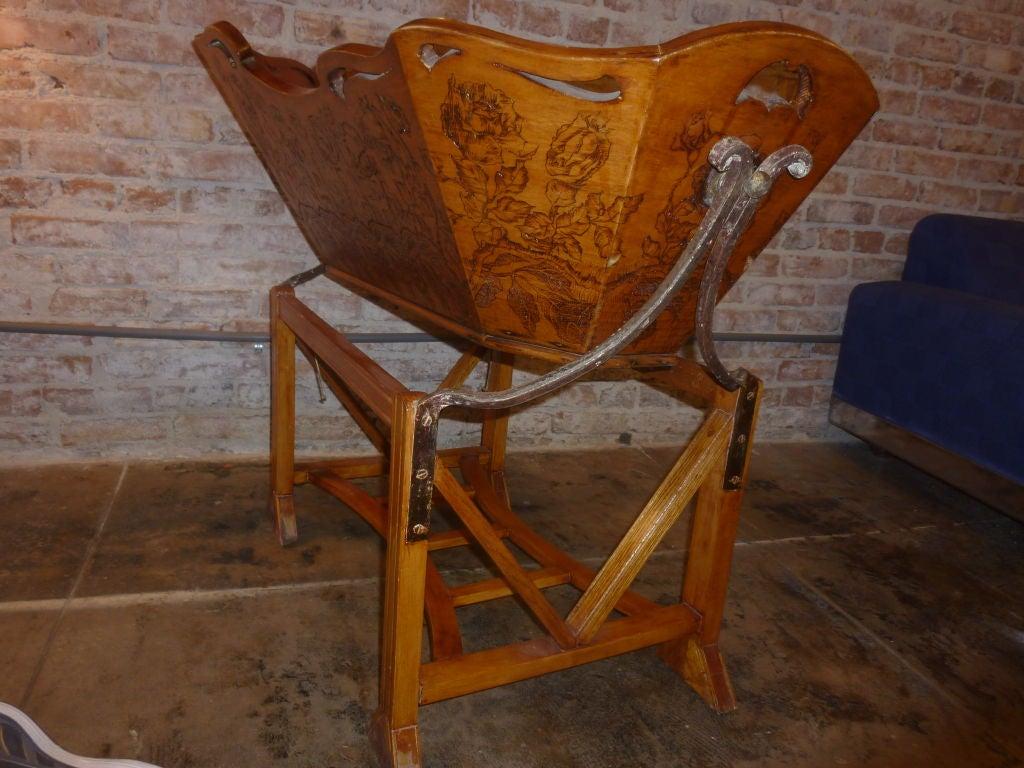 19th Century Italian Baby Cradle 5
