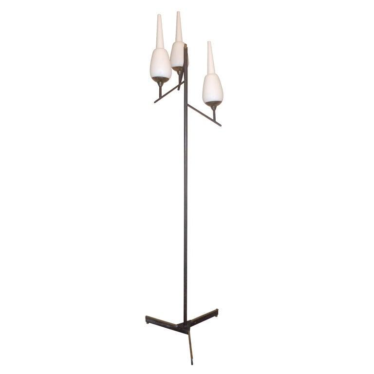 italian Floor Lamp After Stilnovo