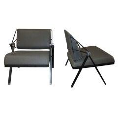 Gaston Rinaldi Italian pair of chairs