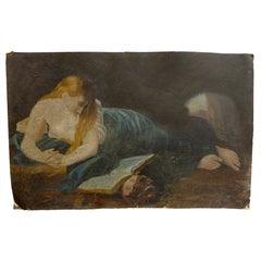 Madonna Art Deco Oil Painting