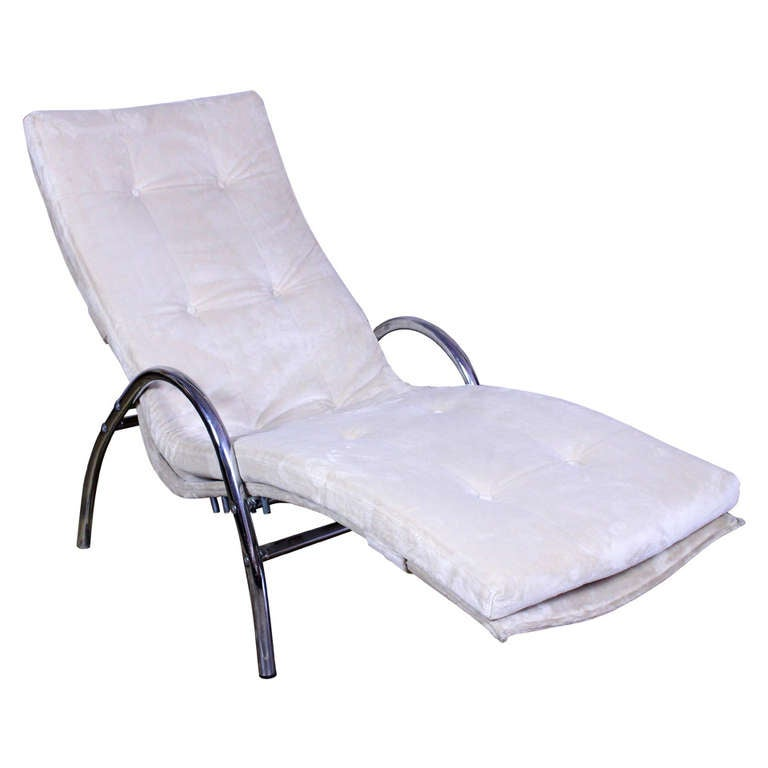 Italian Chaise Longue For Sale