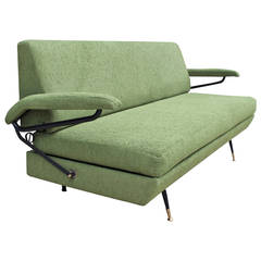 Italian Sofa in Style of Osvaldo Borsani