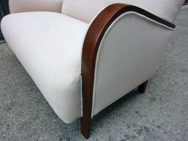 French Art Deco Settee For Sale 1