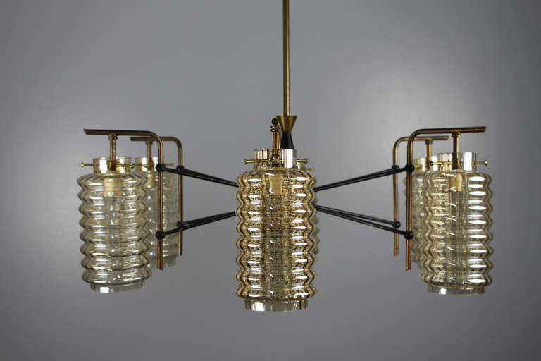 Italian Chandelier In Good Condition For Sale In Los Angeles, CA