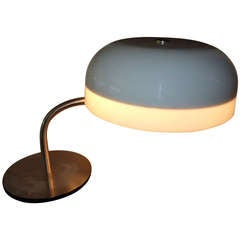 Italian Desk Lamp by Gaetano Scolari or Ecolight Milano